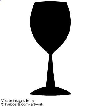 wine glass silhouette clipart wine glass silhouette clipground