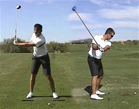 three quarter golf swing backswing
