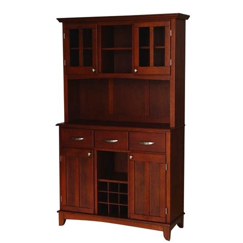 cherry buffet with 2 door hutch 5100 0072 72