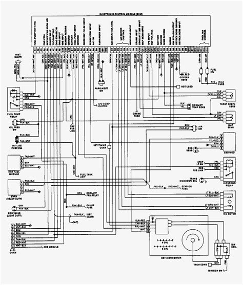 1990 chevy 350 wiring diagram wiring diagram with