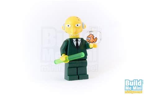 Promo Marge Lego Minifigures The Simpsons No 3 1st001 1st002 lego mr burns simpsons minifigure personalised lego