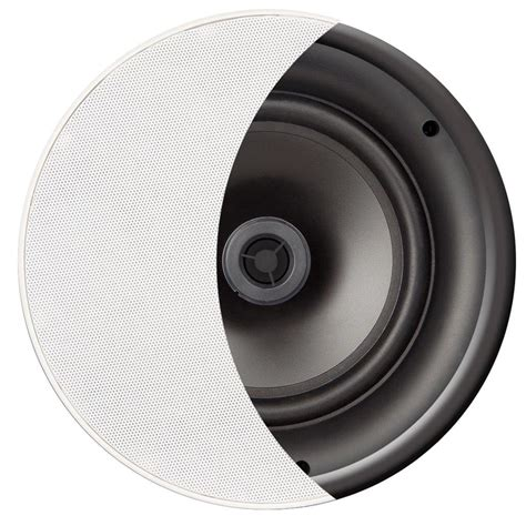 ace600 trimless 6 5 quot ceiling speaker 2 way thin bezel pair