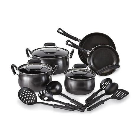 kitchen pots and pans 14 pots and pans non stick cooking kitchen cookware set utensils ebay