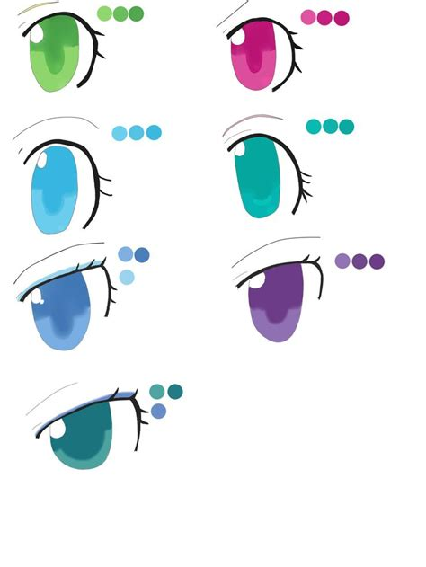 My Anime Chart 29 Best Images About How To Draw On An Eye My