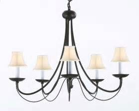 Rod Iron Chandeliers A7 Sc 403 5 Wrought Iron Chandelier