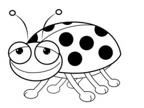Galerry cartoon ladybug coloring pages