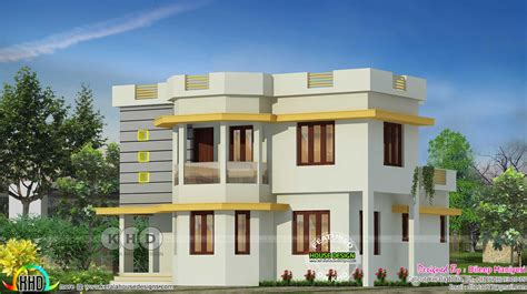 simple home design kerala 4 bedroom simple modern kerala house kerala home design and floor plans