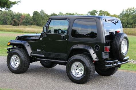2005 Jeep Wrangler X Purchase Used 2005 Jeep Wrangler X Rocky Mountain Lifted