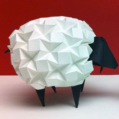 Sheep Origami - origami beth johnson s origami design secrets