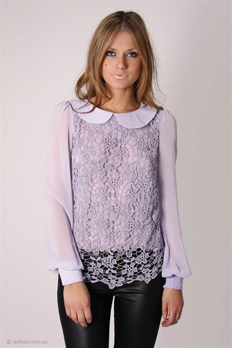 Bord Blue Blouse 17 best images about lilac blouse on coats blue and high fashion