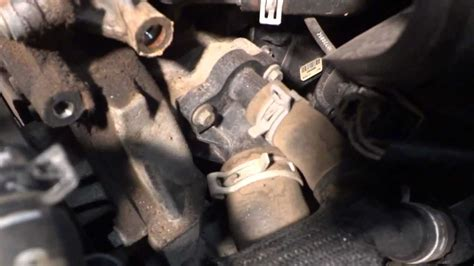 Replacing A L Post by Coolant Temperature Sensor Location On A 2008 Ford Fusion