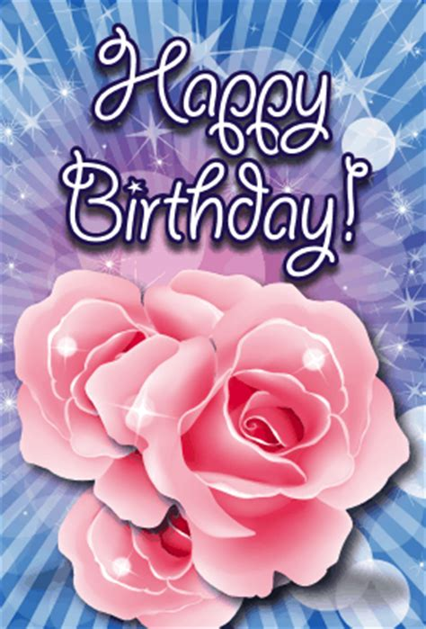 free printable birthday cards roses roses birthday card