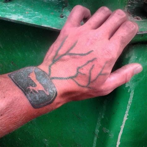john deere tattoos deere 2pics farmfuckups