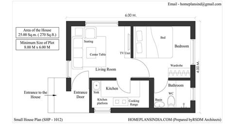 free tiny house blueprints home plans in india 4 free house floor plans for download