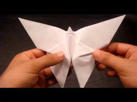 How To Make A Butterfly Origami - simple 171 learn how to make origami