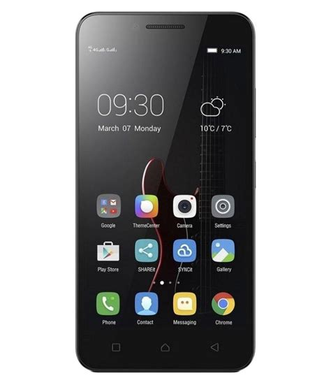 Lenovo A2020a40 Lenovo A2020a40 16gb Black Mobile Phones At Low