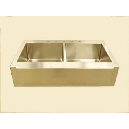 42 Kitchen Sink Empire Industries Ss 42 Farm Sink F42d Americanhomeplus