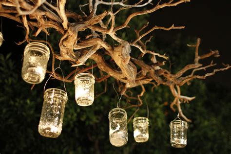 simple diy rustic glass mason jar candles with wire handle