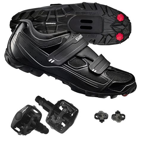bike pedals and shoes buy shimano spd m065 mountain bike cycling shoes wellgo
