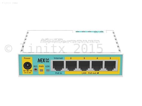 Router Mikrotik 16 Port routerboard hex poe lite routeros l4 with uk power supply