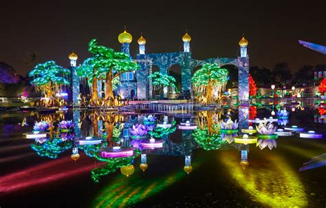 dubai garden glow dubai united arab emirates the