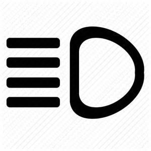 Lighting Car Symbol Auto Car Light Operation Icon Icon Search Engine