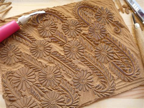 the printing process block printing