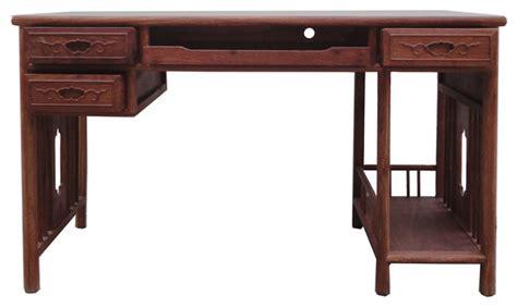 asian desk yellow rosewood modern writing desk asian