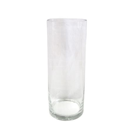 Large Clear Floor Vase by Clear Cylinder Vase Candles Flower Floor Search