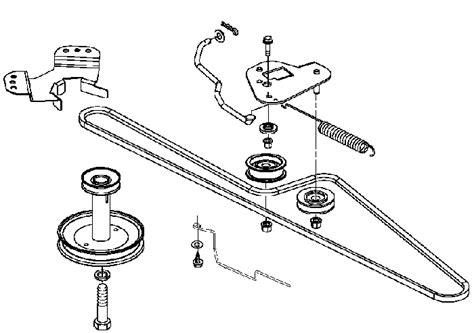 l100 belt diagram deere l100 drive belt replacement