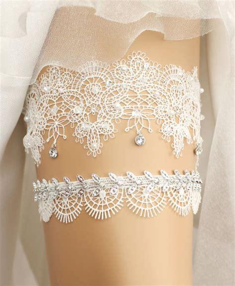 bridal garter belt sets wedding garters garter and lace weddings on