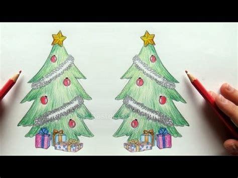 tannenbaum zeichnen weihnachtsbaum zeichnen lernen