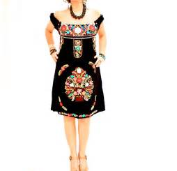 Handmade mexican embroidered dresses and vintage treasures from aida coronado off shoulder