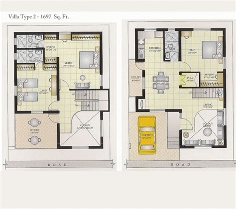 villa floor plans india small duplex house plans regarding house vaultz with