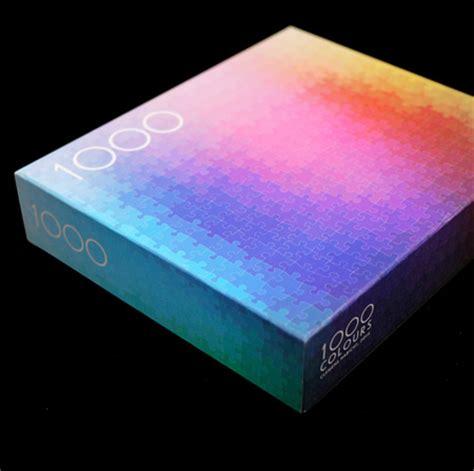 Cmyk Color Spectrum Puzzle by 1000 Colors Jigsaw Puzzle