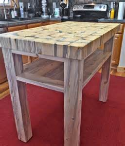 Kitchen Island Butchers Block by Butcher Block Kitchen Island 3 Thick End Grain Blocks