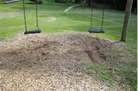 leveling ground for swing set swing and slide mats gecko surfacing
