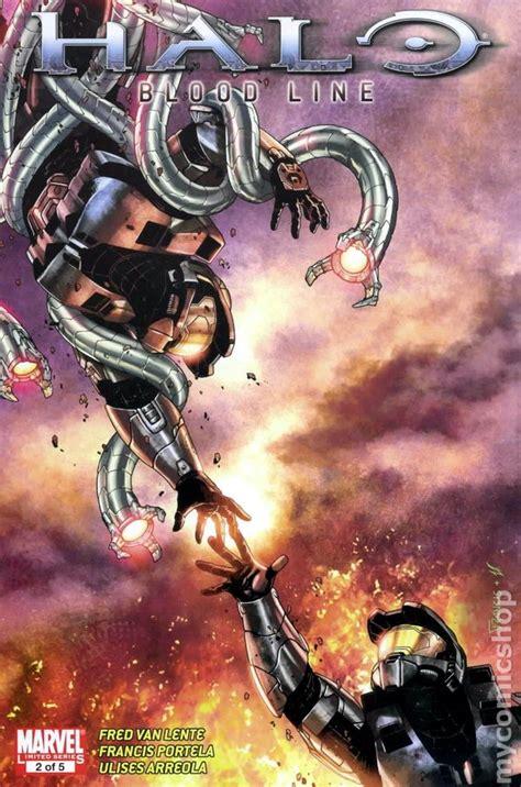 Halo Tp Blood Line Marvel Comics halo blood line 2009 marvel comic books
