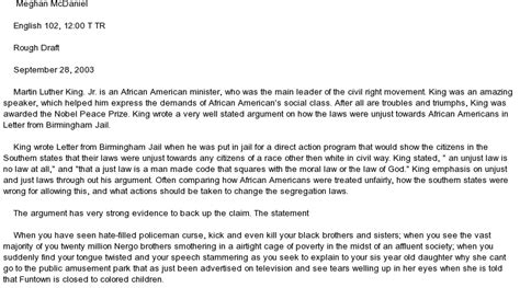 Martin Luther King Jr Essay Topics by Martin Luther King Essay