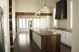 salvaged wood kitchen island home restyler wood glorious wood using wood in your