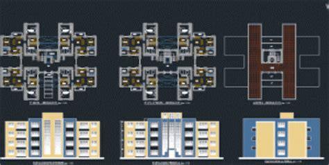 Design Floor Plans Online hostels plans and 3d elevations modern building design