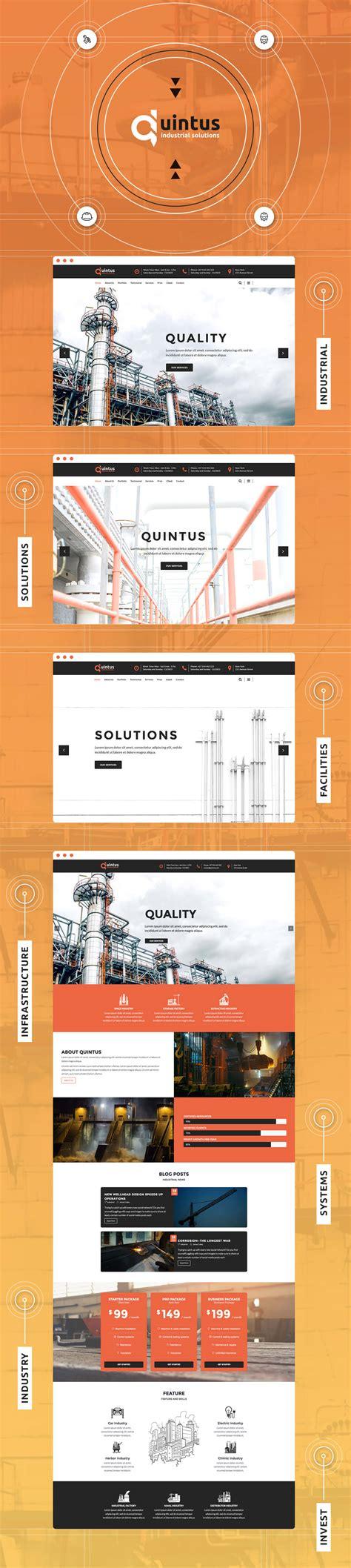 themes wordpress engineering quintus industry factory engineering wordpress theme