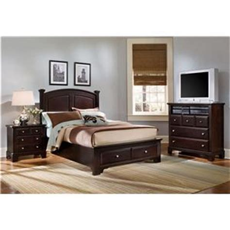 Pilgrim Furniture City by Vaughan Bassett Hamilton Franklin Panel Storage Bed
