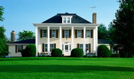 exterior paint colors for federal revival homes