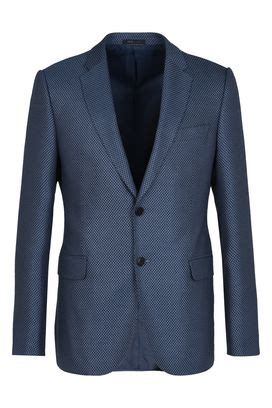 Two Tone Single Button Jacket s jackets armani collezioni summer 2017