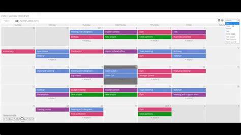 Calendar Sharepoint Sharepoint Calendar Web Part Overview Virtosoftware