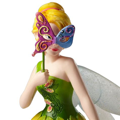Disney Traditions Tinker Bell Masquerade your wdw store disney figurine showcase collection tinker bell masquerade