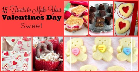 Valentines Day Treats by 15 Valentines Day Treats