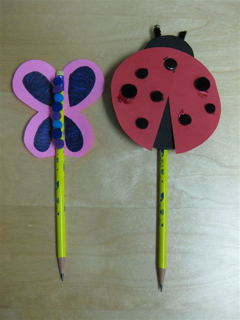 pencil topper crafts for activity favor birthday pencil