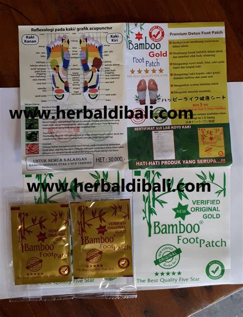 Koyo Kaki Bamboo Gold Goldrelax jual koyo kaki bamboo gold detox di denpasar bali jual